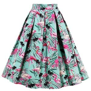 Dresses & Skirts - Flamingo skirt